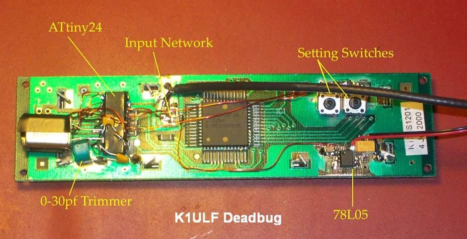K1ULF Dead Bug implementation