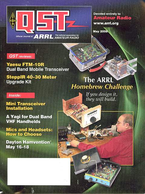QST ARRL Homebrew